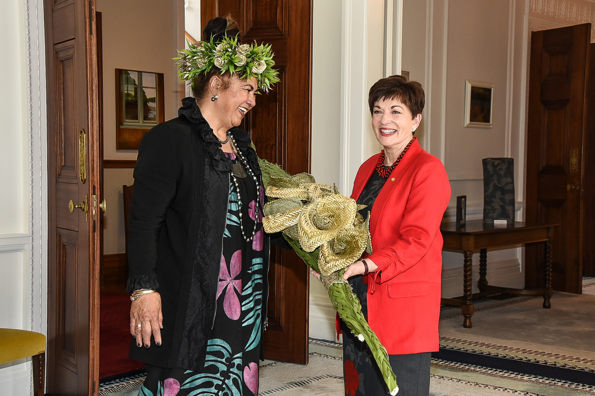 Mary Ama and Dame Patsy Reddy